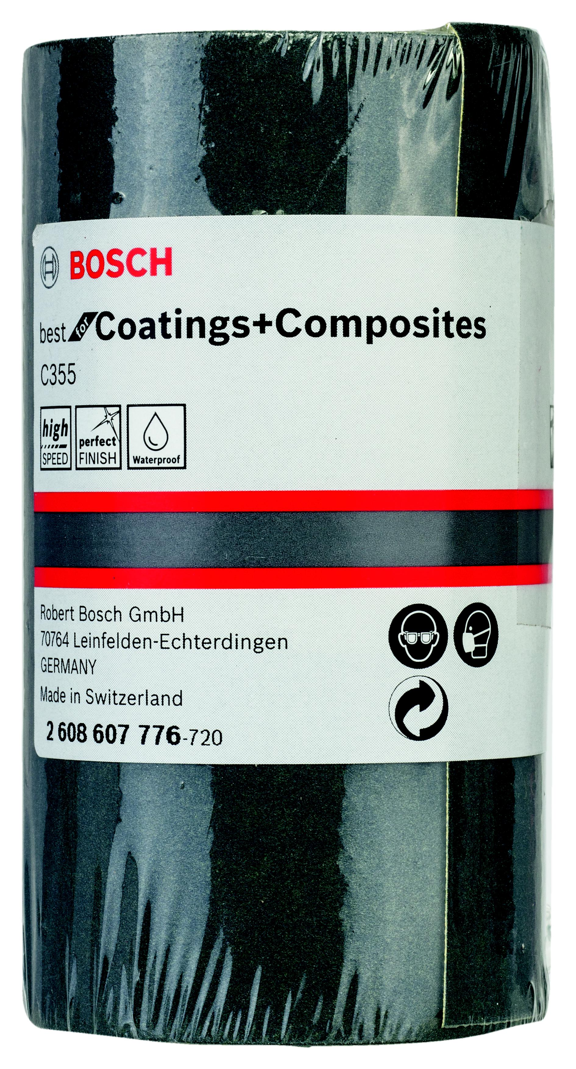 Шкурка шлифовальная в рулоне Bosch 2608607776 шлифовальная машина bosch gss 230 ave professional