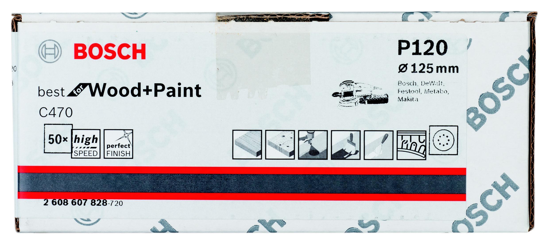 Лист шлифовальный Bosch 2608607828 стоимость