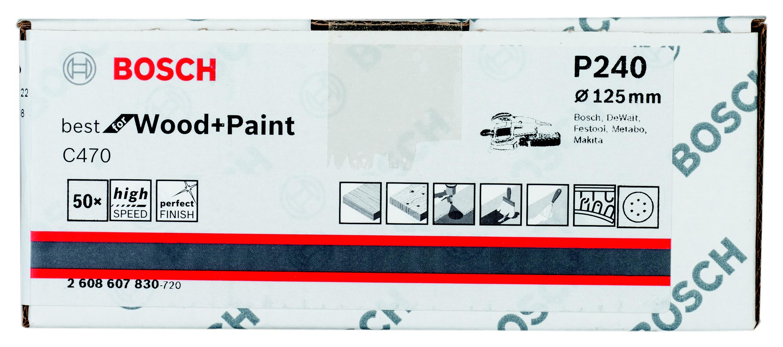 Лист шлифовальный Bosch 2608607830 стоимость