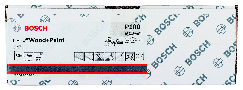 Лист шлифовальный Bosch 2608607925 стоимость