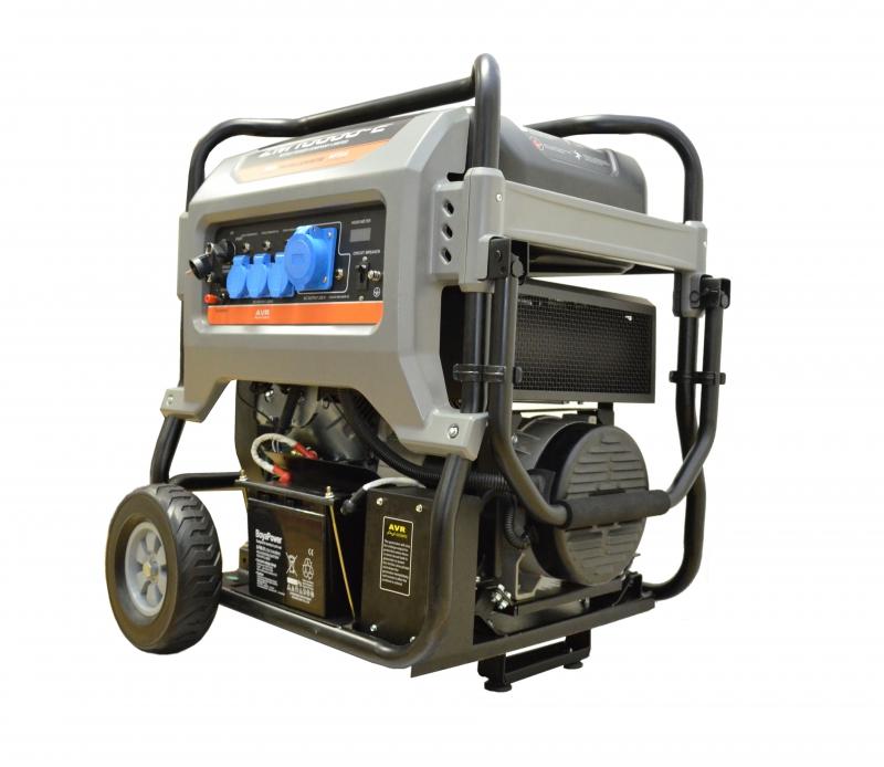 Бензиновый генератор Mitsui power Zm10000-e mitsui power eco zm10000е