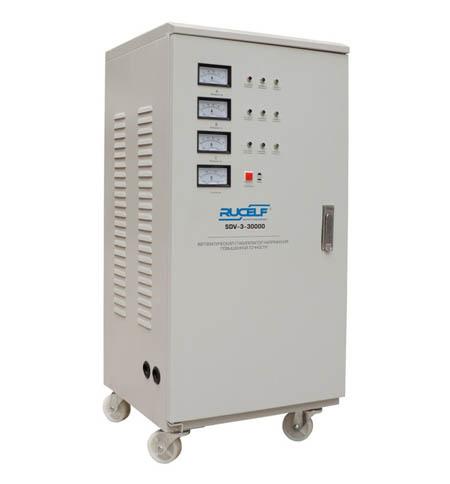 Стабилизатор напряжения Rucelf Sdv-3-30000 стабилизатор напряжения rucelf sdv 3 60000