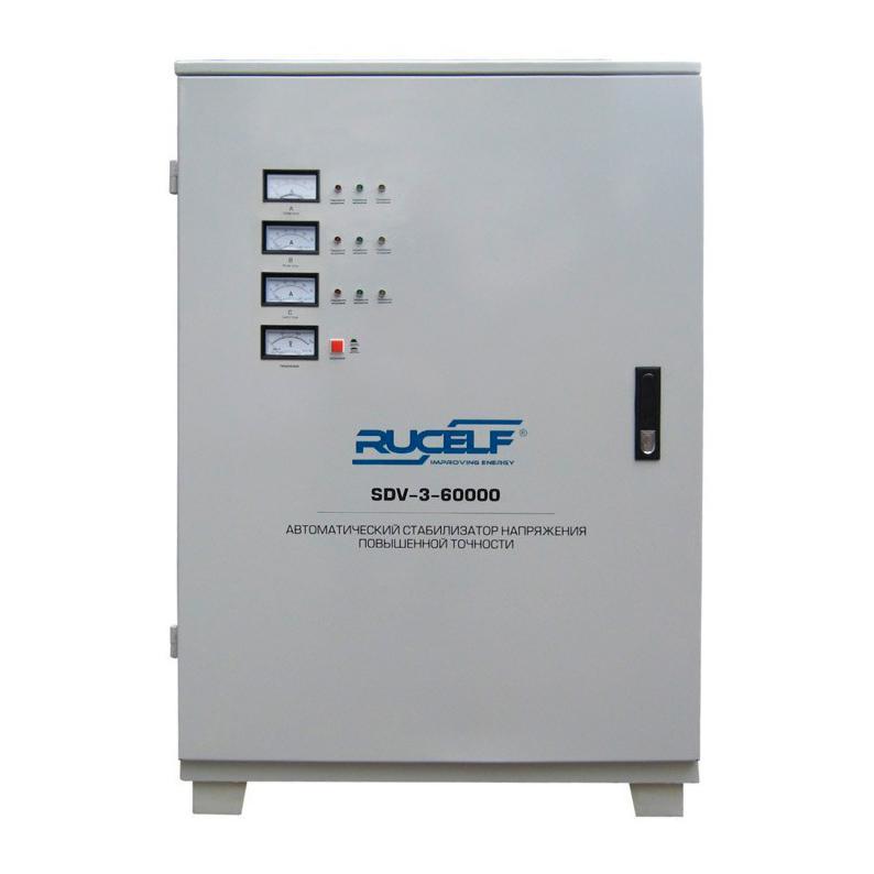 цена на Стабилизатор напряжения Rucelf Sdv-3-60000