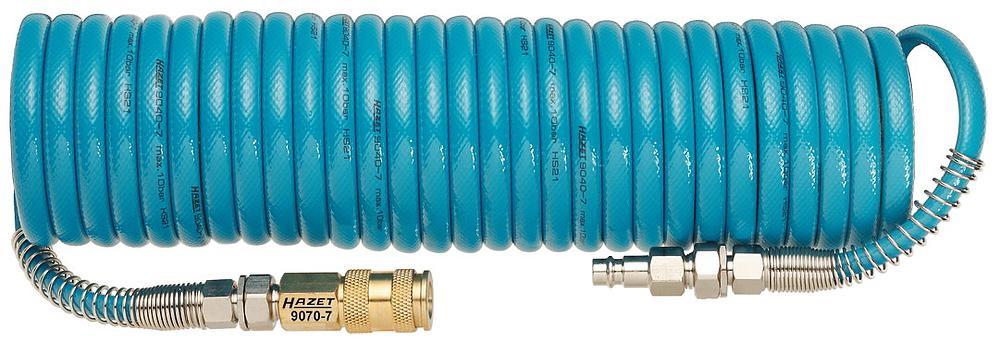 Шланг спиральный для пневмоинструмента Hazet 9040-7 шланг дренажный спиральный армированный малонапорный сибртех