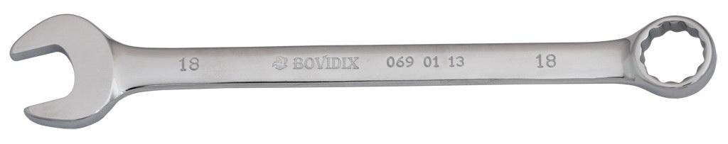 Ключ гаечный комбинированный Bovidix 0690113 (18 мм) ключ гаечный комбинированный kraft кт 700512 18 мм