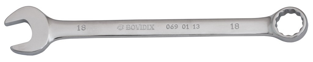 Ключ гаечный комбинированный Bovidix 0690114 (19 мм) ключ комбинированный kraft 14 мм кт 700508