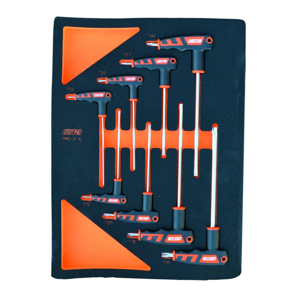 Набор отверток Custor Pro-2-6 набор отверток 8 предметов центроинструмент 0558