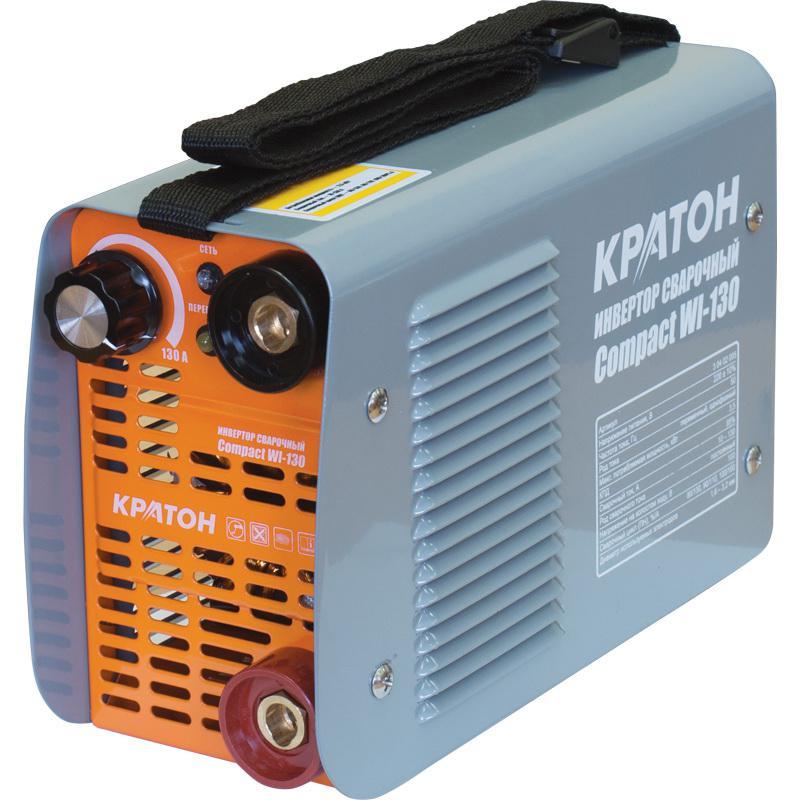 Сварочный аппарат КРАТОН Compact wi-130 сварочный инвертор кратон smart wi 180 3 04 02 008