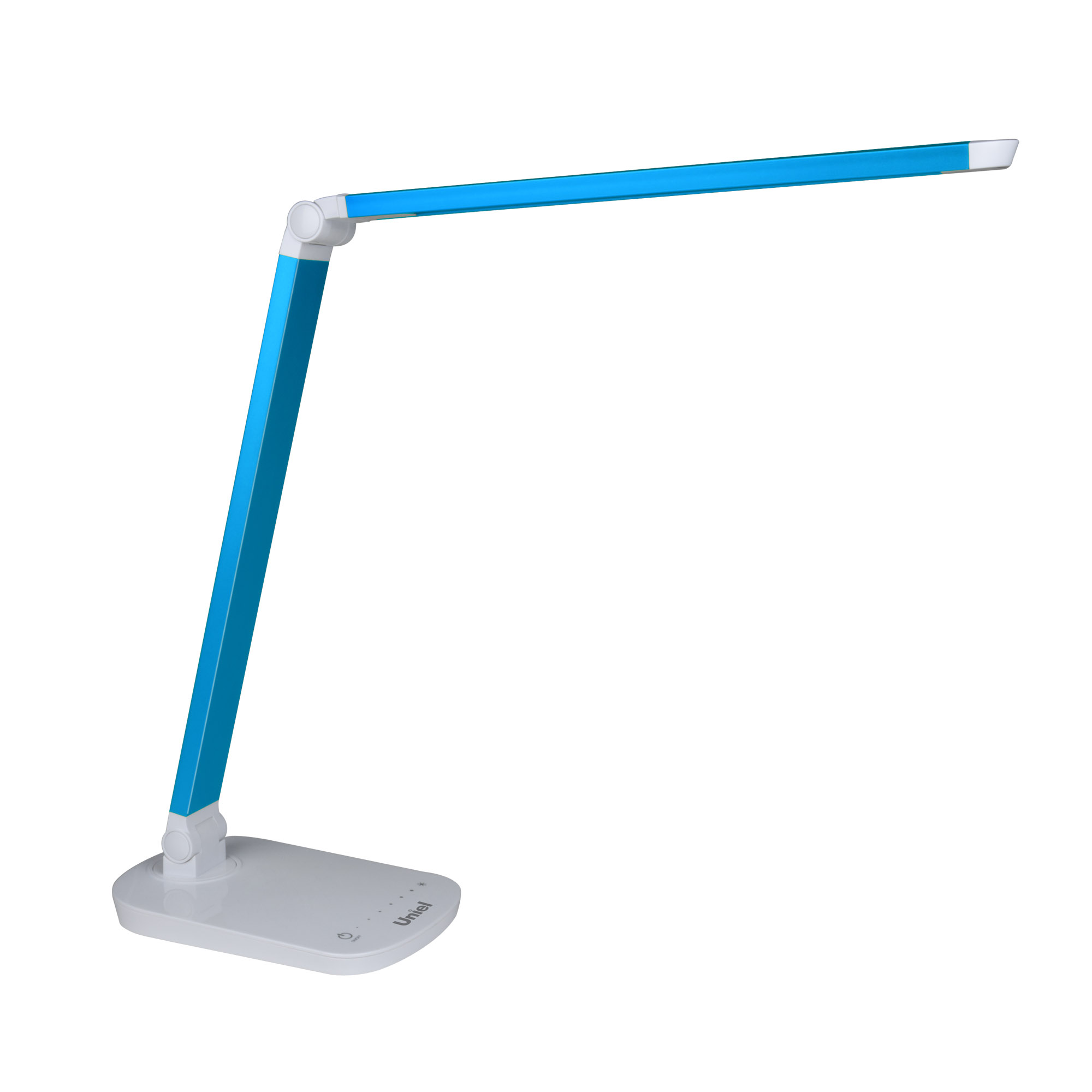 Лампа настольная Uniel Tld-521 blue/led/800lm/5000k/dimmer uniel настольная лампа uniel tld 521 blue led 800lm 5000k dimmer 10084