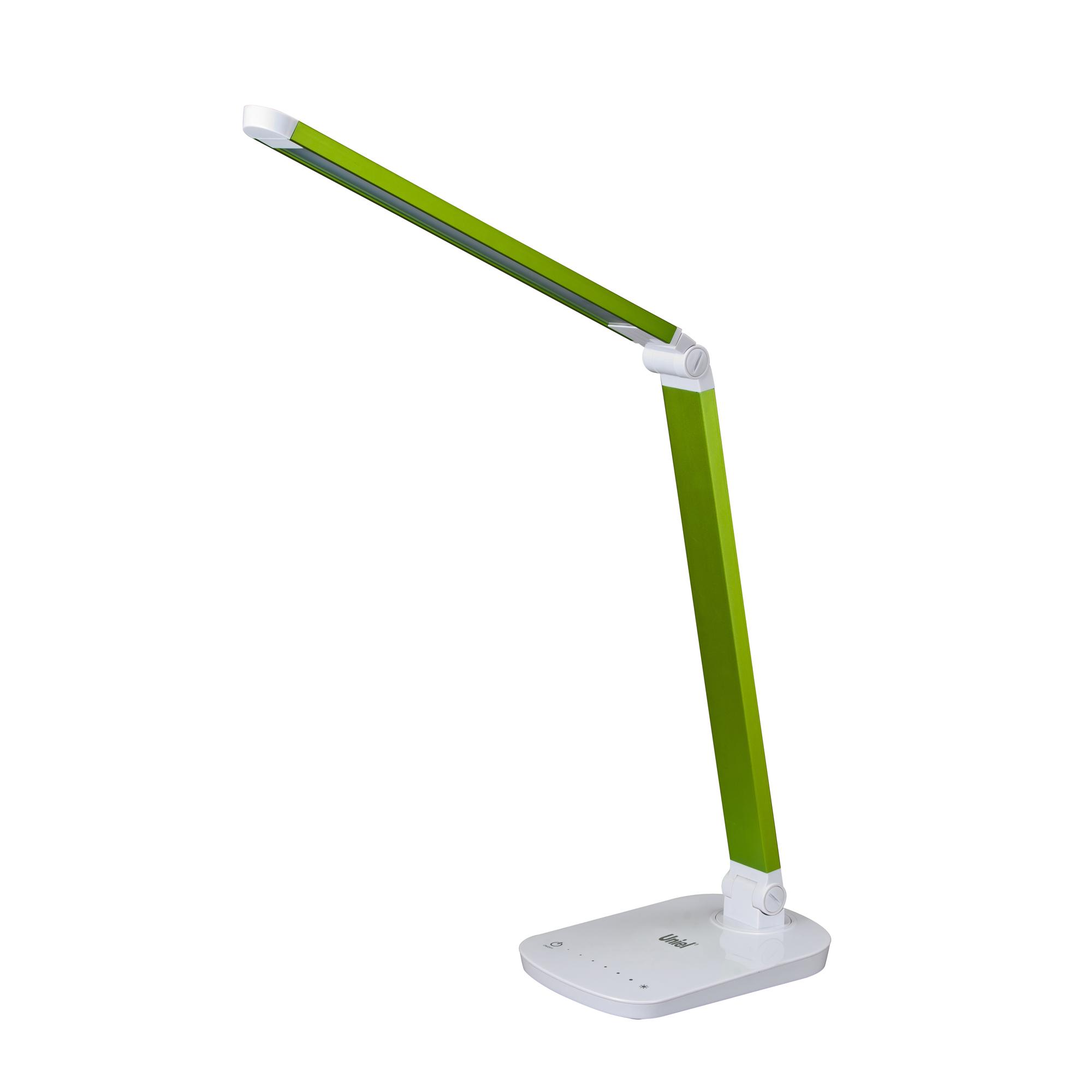 Лампа настольная Uniel Tld-521 green/led/800lm/5000k/dimmer