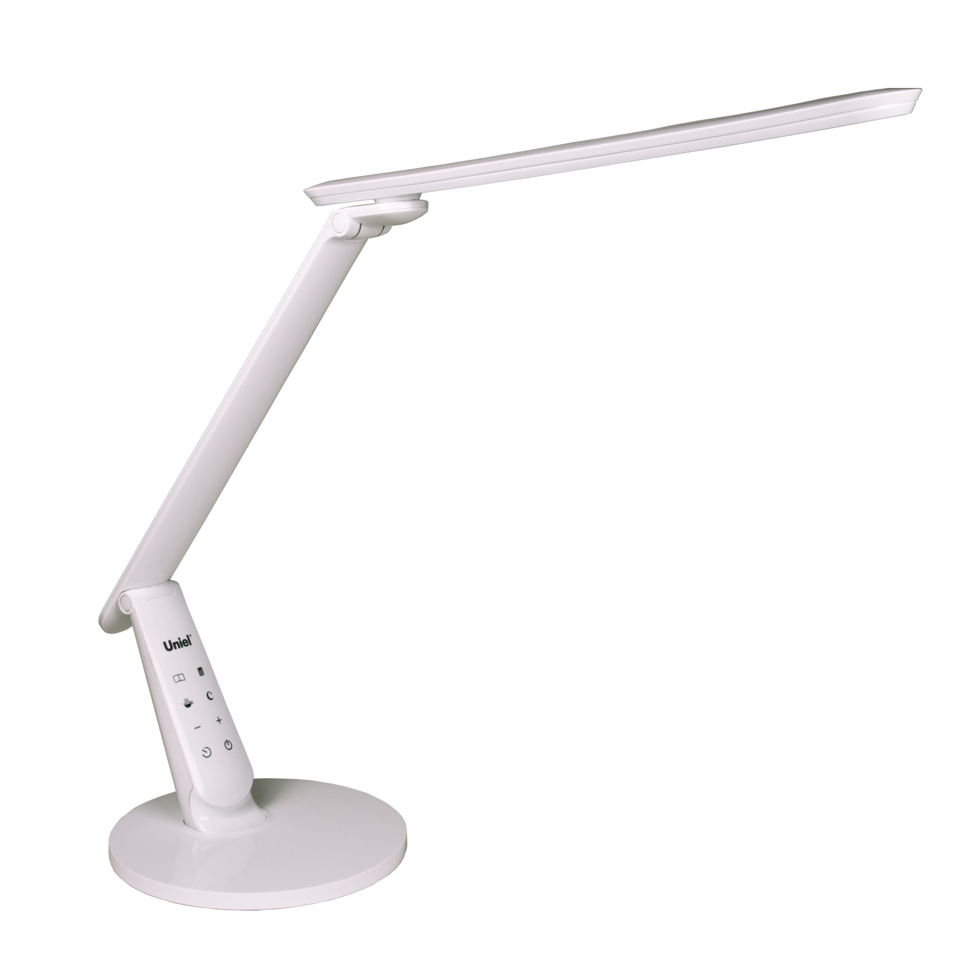 Лампа настольная Uniel Tld-526 white/led/650lm/4color/dimmer/usb