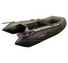Лодка HUNTERBOAT Хантер 240 зеленая