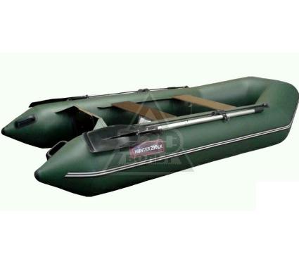 Лодка HUNTERBOAT Хантер 290 ЛК зеленая Комфорт