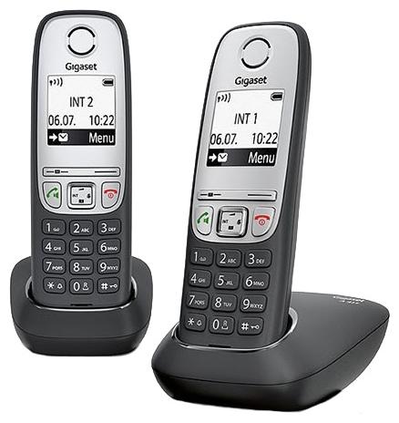 Радиотелефон Gigaset A415 duo радиотелефон gigaset a415 black