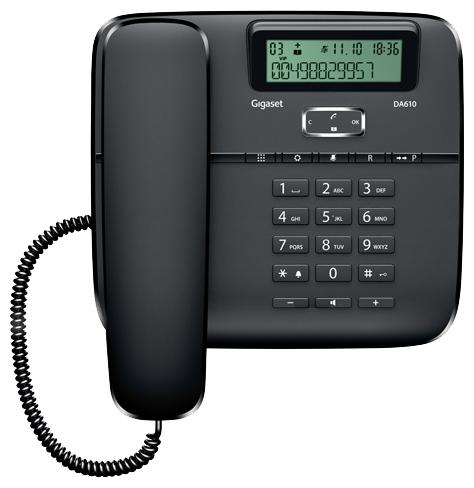 Проводной телефон Gigaset Da610 телефон проводной gigaset openstage 40 t lava black