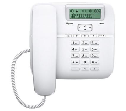 Проводной телефон GIGASET DA610