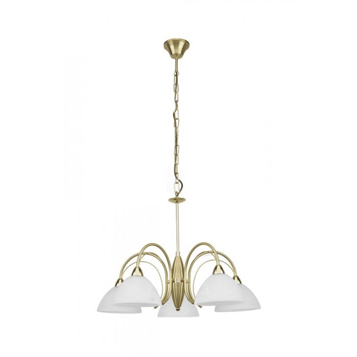 Люстра Eglo Milea 89827 lucesolara люстра lucesolara 8001 5s цоколь е14 40w gold cream металл стекло 5 ламп