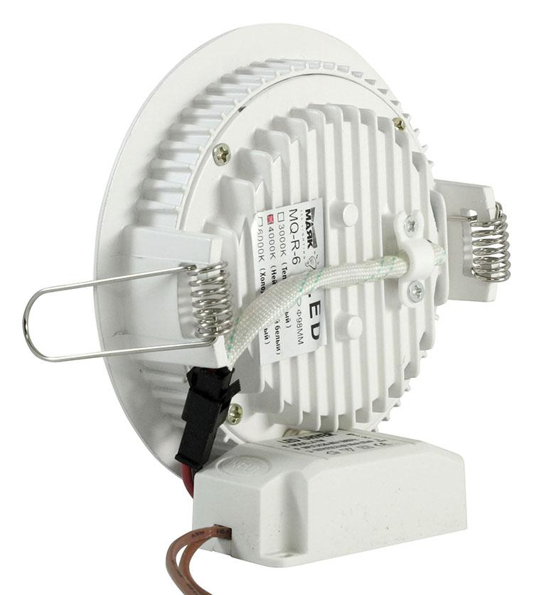 Светильник встраиваемый МАЯК Mq-r-6-3000k