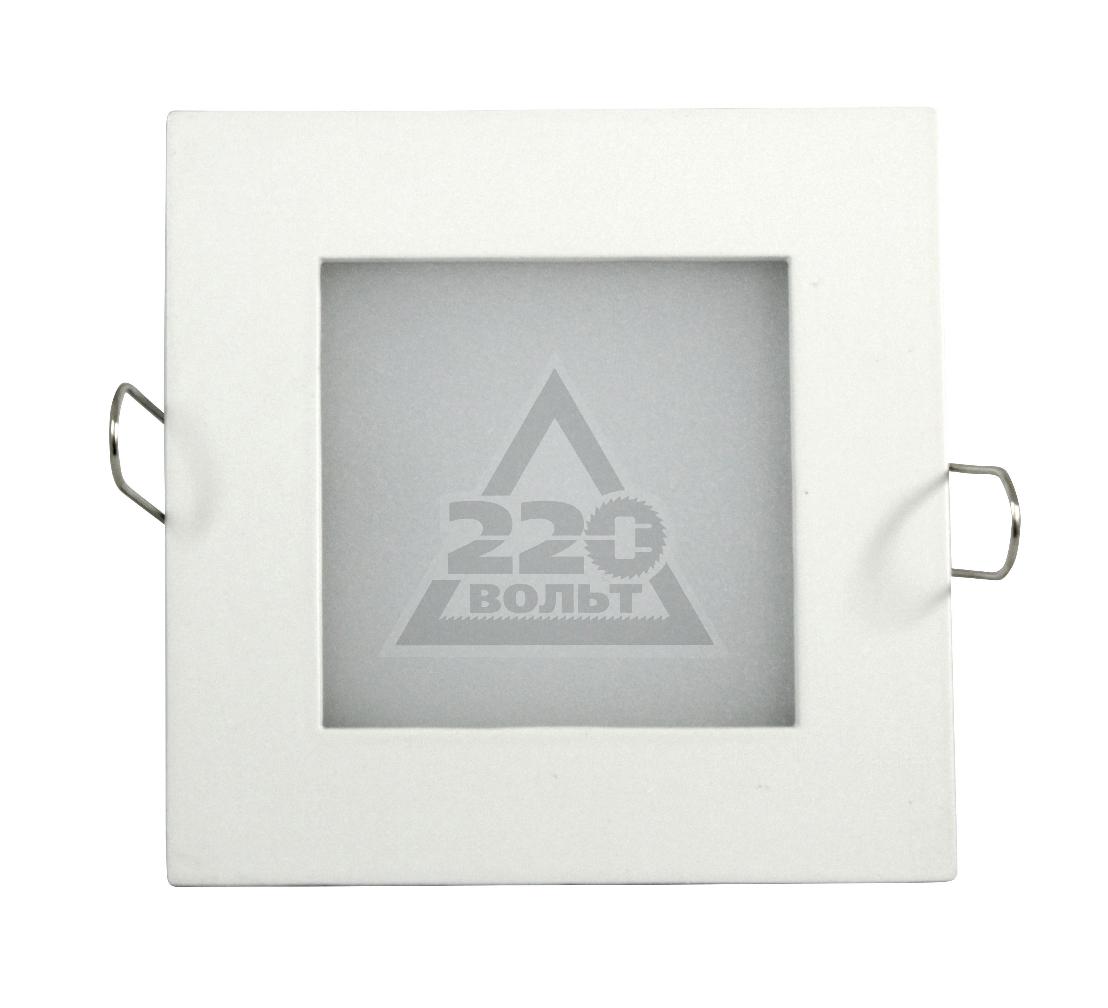 Светильник встраиваемый МАЯК MQ-SQ-6-3000K