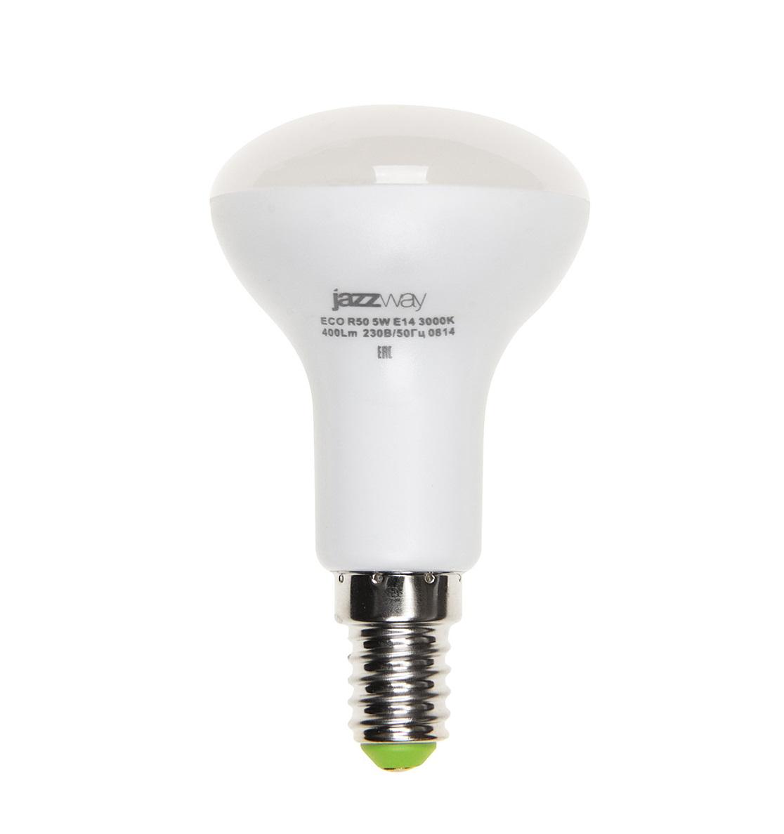 Лампа светодиодная Jazzway Pled-eco-r50 (331824) лампа настольная jazzway ptl 1128 blue