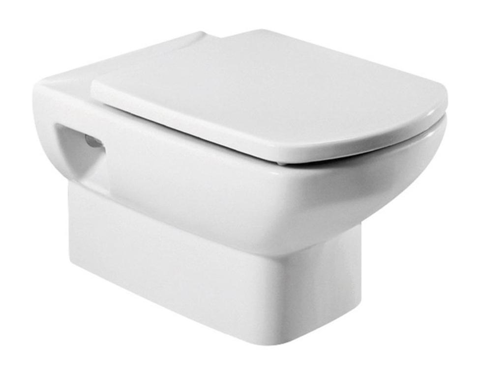 Унитаз подвесной Roca 346517000 смеситель для биде smartsant тренд sm054005aa