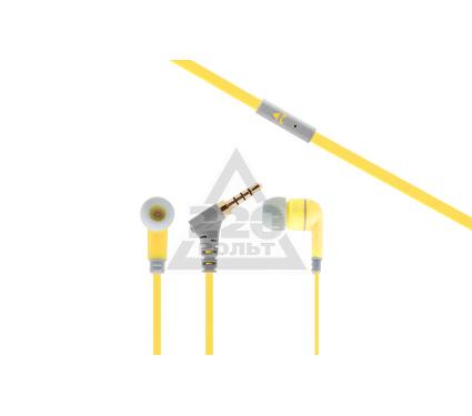 Наушники-вкладыши INTER STEP HF-175 (желтая)