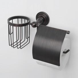 Держатель для туалетной бумаги Wasserkraft Isar k-7359 держатели для туалетной бумаги verran держатель для туалетной бумаги закрытый с вакуумной системой крепления real