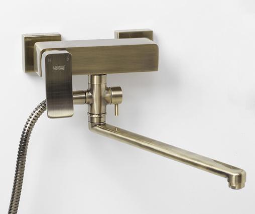 Смеситель для ванны Wasserkraft Exter 1602l смеситель wasserkraft dinkel 5803 9061509
