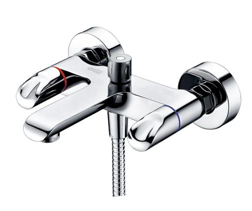 Смеситель для ванны Wasserkraft Lossa 1201 смеситель для раковины wasserkraft lossa 1203 9061224
