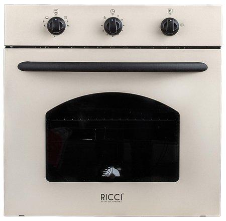 Встраиваемая газовая духовка Ricci Rgo-610bg ricci rgn 610bg