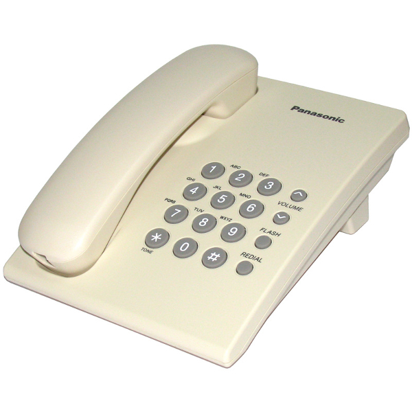Проводной телефон Panasonic Kx-ts2350ruj телефон проводной panasonic kx nt511aruw