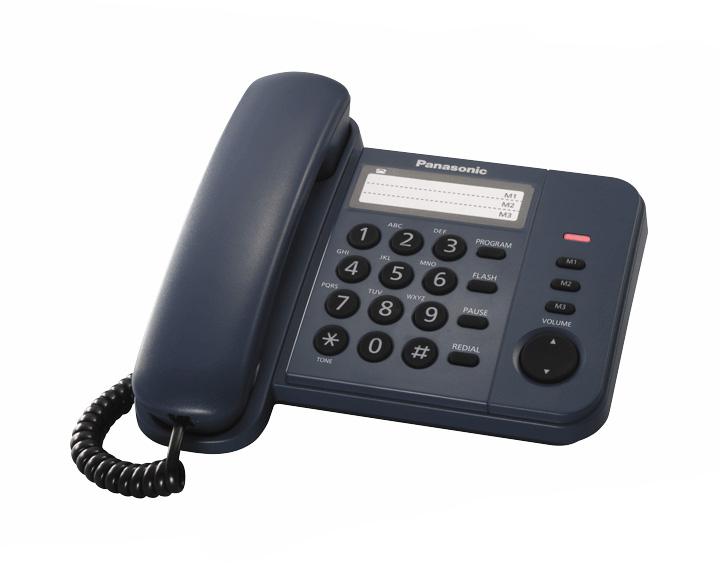 Проводной телефон Panasonic Kx-ts2352ruc проводной телефон panasonic kx ts2352rub черный