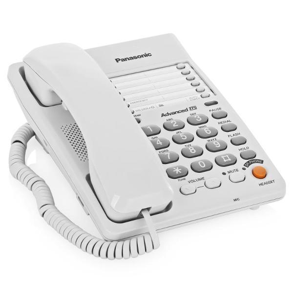 Проводной телефон Panasonic Kx-ts2363ruw телефон проводной panasonic kx ts2350ru