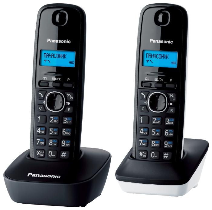 Радиотелефон Panasonic Kx-tg1612ru1 kx dt333ru в спб