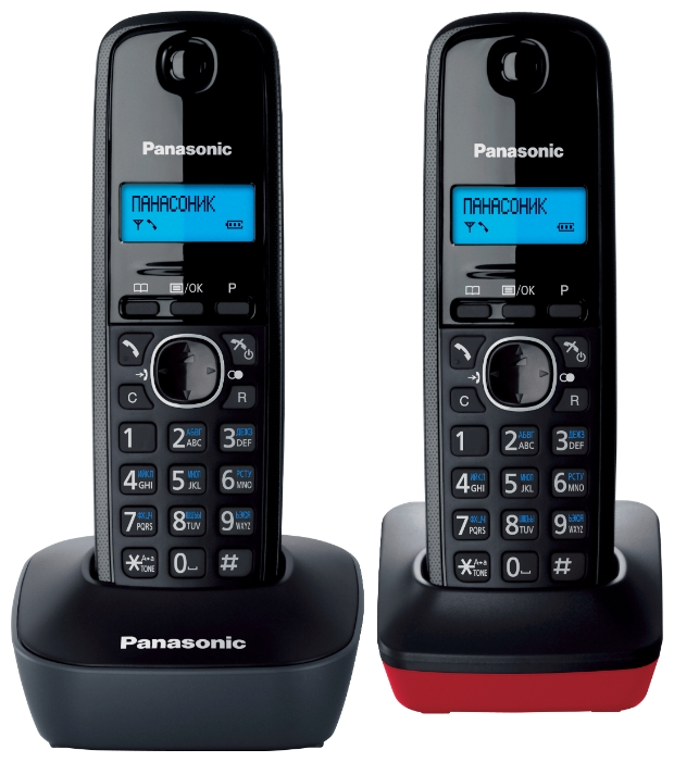 Радиотелефон Panasonic Kx-tg1612ru3 kx dt333ru в спб