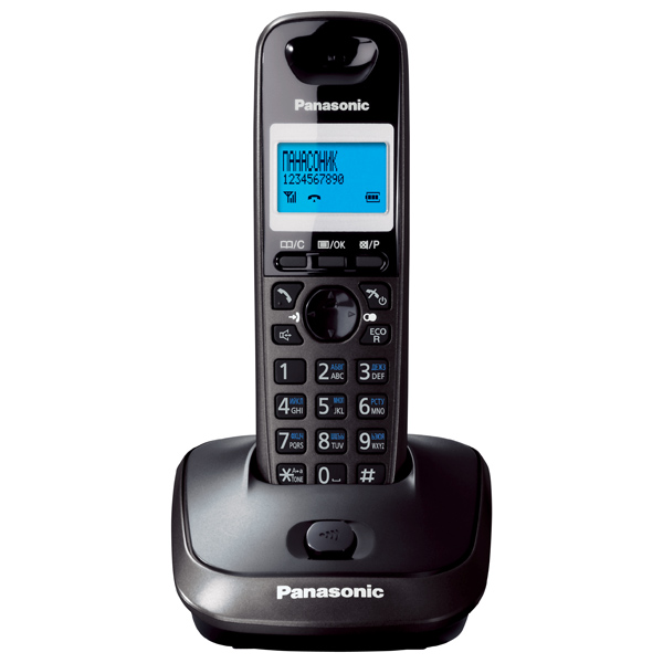 Радиотелефон Panasonic Kx-tg2511rut радиотелефон panasonic kx tg8551 белый kx tg8551ruw
