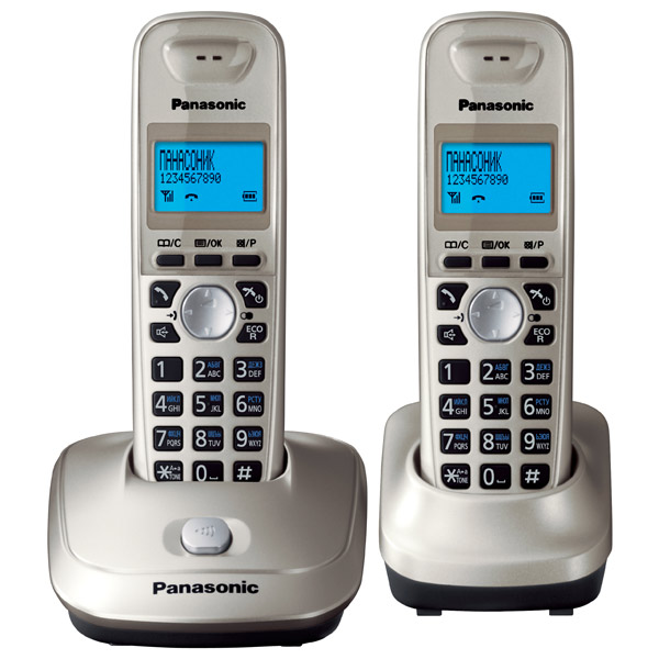 Радиотелефон Panasonic Kx-tg2512run kx dt333ru в спб