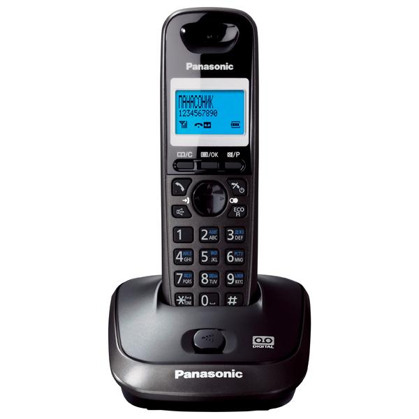 Радиотелефон Panasonic Kx-tg2521rut радиотелефон panasonic kx tg8551 белый kx tg8551ruw
