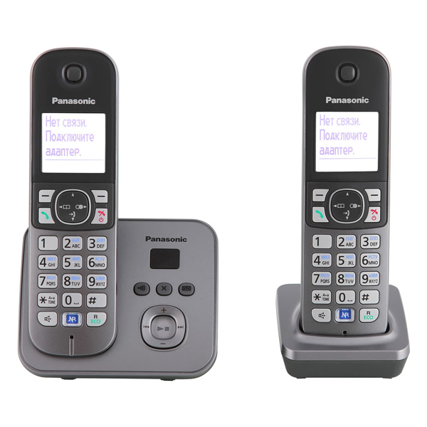 Радиотелефон Panasonic Kx-tg6822 rum радиотелефон panasonic kx tg8551 белый kx tg8551ruw