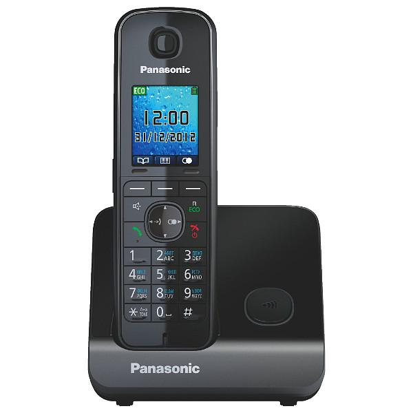 Радиотелефон Panasonic Kx-tg8151rub радиотелефон panasonic kx tg8551 белый kx tg8551ruw