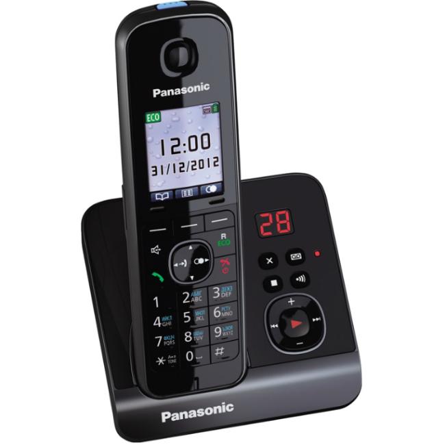 Радиотелефон Panasonic Kx-tg8161rub радиотелефон panasonic kx tg8551 черный kx tg 8551 rub