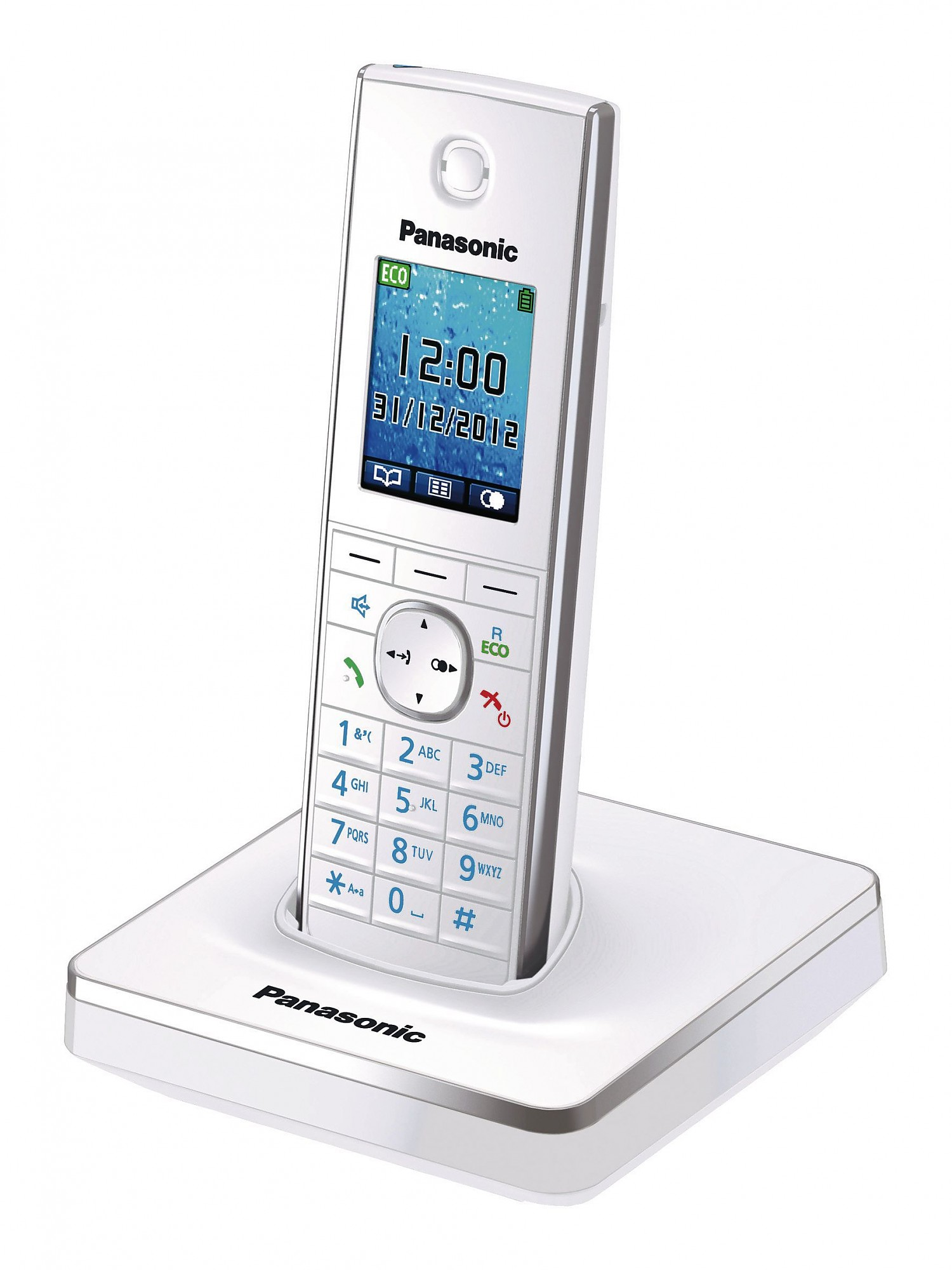 Радиотелефон Panasonic Kx-tg8551ruw радиотелефон panasonic kx tg8551 белый kx tg8551ruw