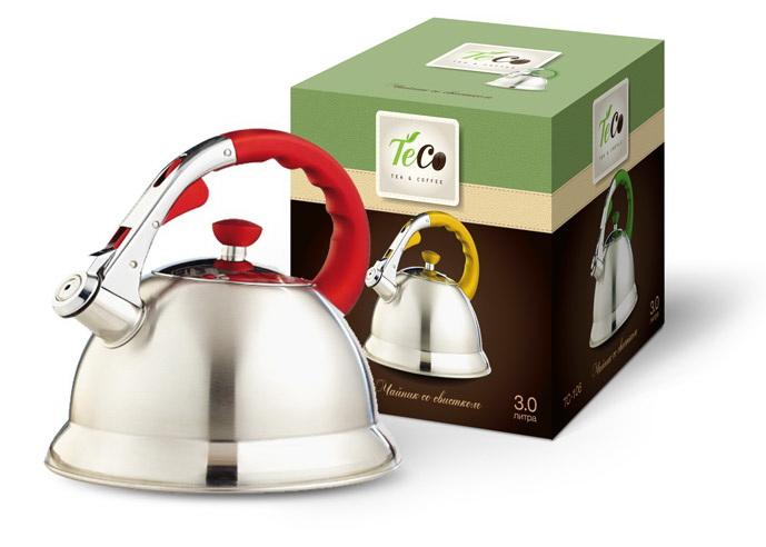 Чайник со свистком Teco Tc-106