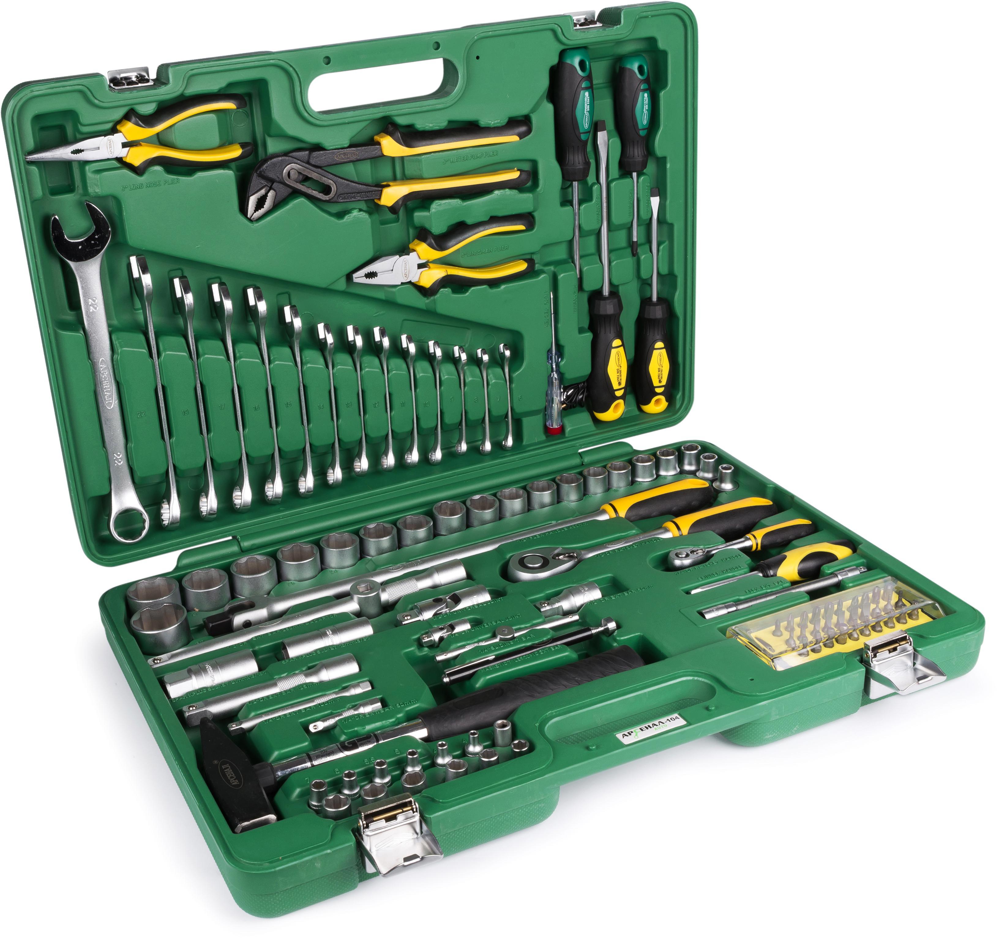 Набор инструментов универсальный АРСЕНАЛ Aa-c1412p104 набор инструментов арсенал 1920850 aa c1412l90