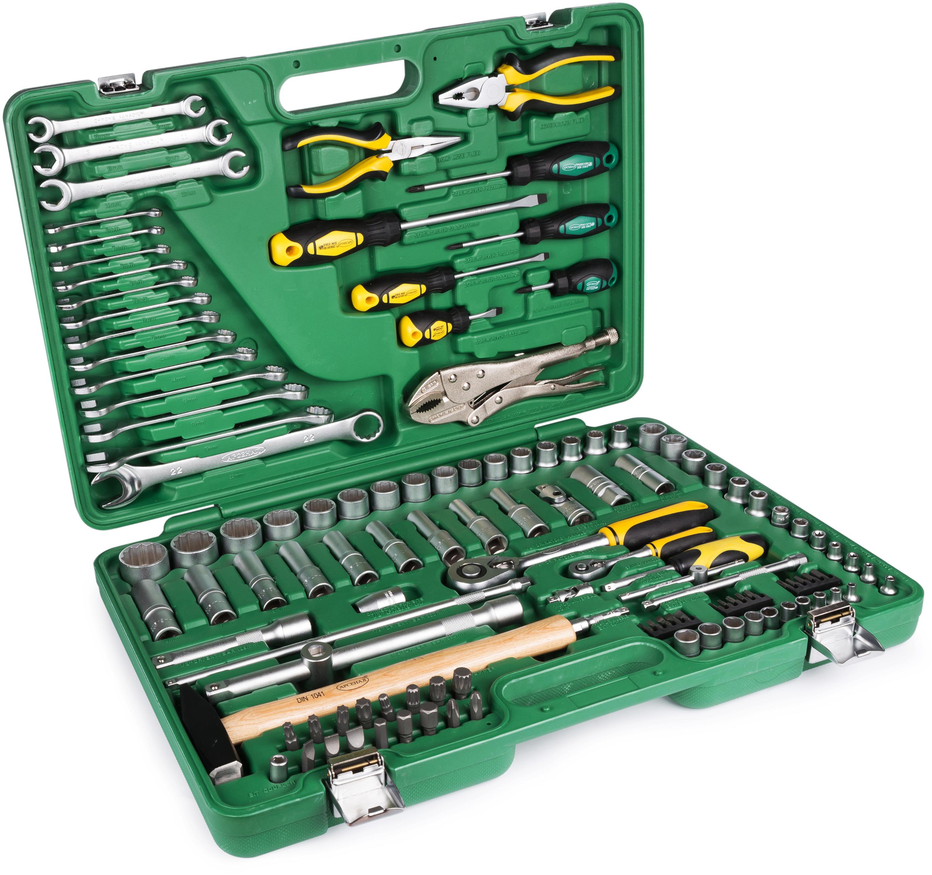 Набор инструментов универсальный АРСЕНАЛ Aa-c1412p121  - Купить