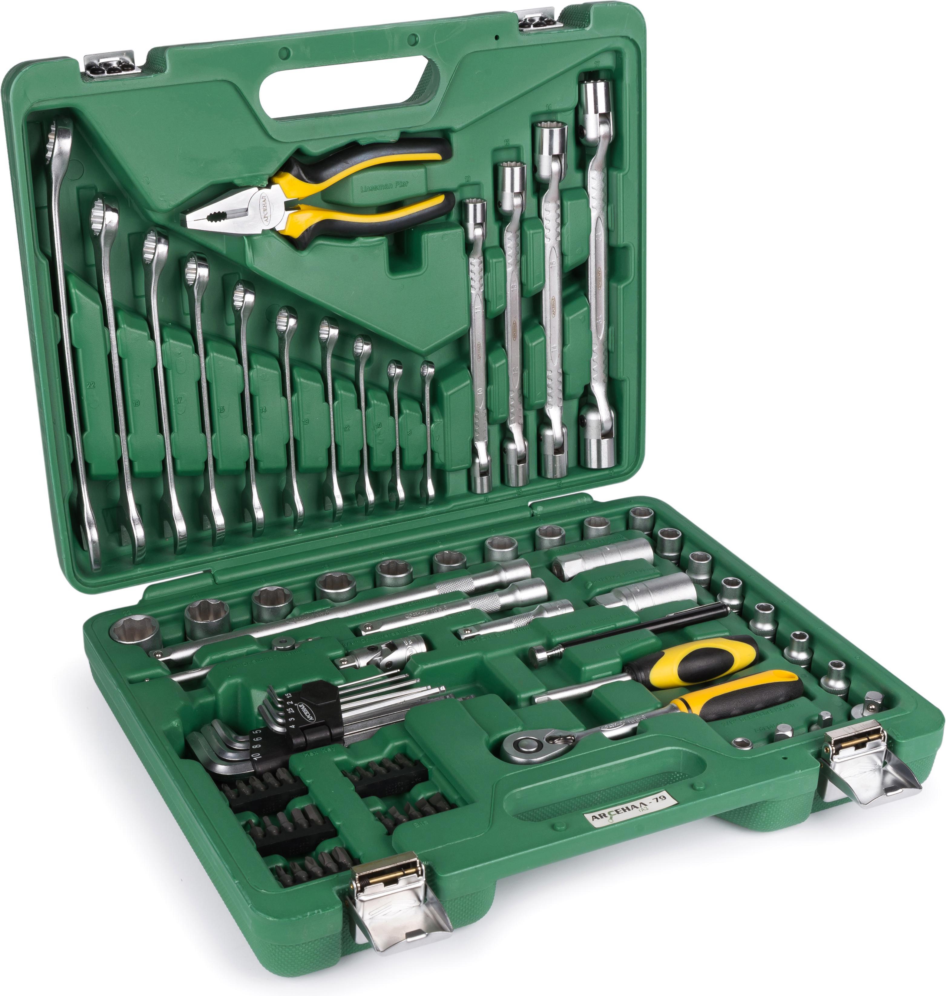 Купить Набор инструментов универсальный АРСЕНАЛ Aa-c38ul79