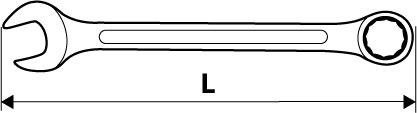 Ключ гаечный с трещоткой Topex 35d746