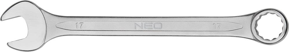 Ключ гаечный комбинированный Neo 09-725 (25 мм) комбинированный ключ с трещоткой neo 13x185 мм 09 055