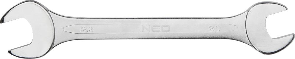 Ключ гаечный рожковый Neo 09-825 (25 / 28 мм) кувалда neo 25 072