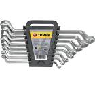 Набор гаечных ключей TOPEX 35D856 (6 - 22 мм)
